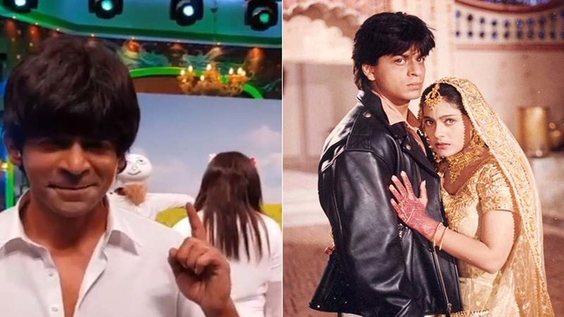 Gangs Of Filmistan BTS Video: Sunil Grover Imitates Shah Rukh Khan From DDLJ, But There Is A Twist In His Onscreen Simran