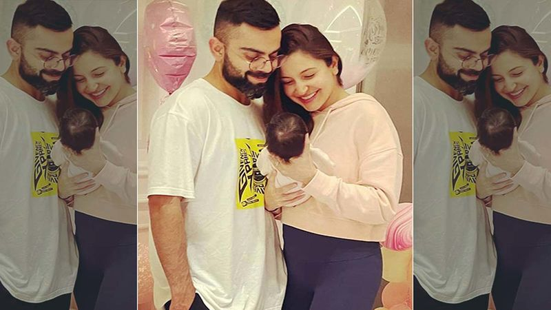 Virat Kohli- Anushka Sharma SPOTTED With Baby Vamika At Ahmedabad Airport; Cricketer Wins Hearts As He Fulfills His Daddy Duties