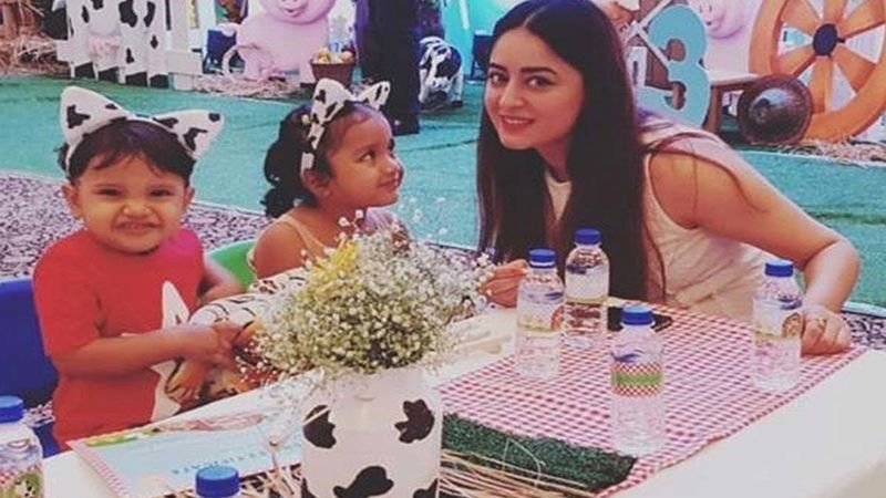 Mahhi Vij Sets The Record Straight On People Questioning Them If They Have Abandoned Their Domestic Help's Kids After Tara's Birth