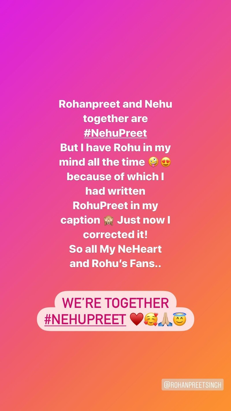 Neha Kakkars Instagram stories