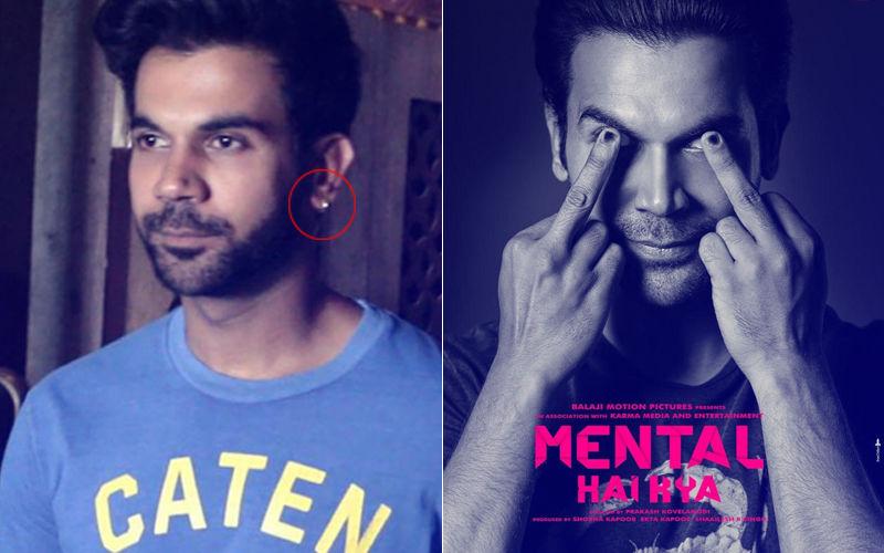 Rajkummar Rao Gets His Ears Pierced For Mental Hai Kya!