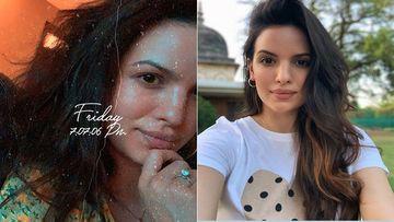 Hardik Pandya's Lady Love Natasa Stankovic Shares A Selfie But The Big Rock On Her Finger Arrests Our Attention
