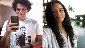 Vijay Varma Posing With His Fallen Co-Star Sonakshi Sinha Pens A Fun Caption; Puts Fans On A Hook