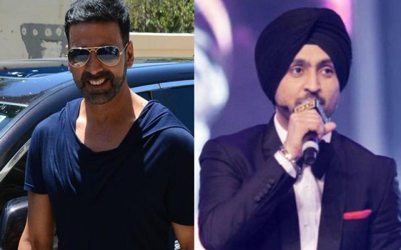 Diljit Dosanjh Croons For Akshay Kumar