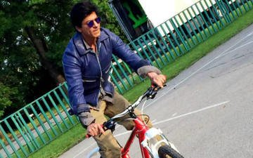Srk Cycling Dil Se!