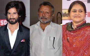 Shahid's Father Pankaj And Wife Supriya Head To Beas