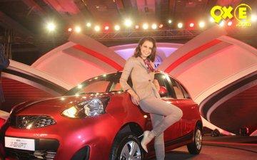 Kangana goes chic at a recent car launch