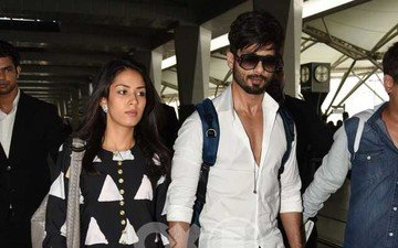 Spotted: Mr And Mrs Kapoor Head To Mumbai!