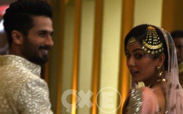 Shahid Rejected 5 Cards Before Choosing This Reception Invite