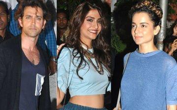 Hrithik, Sonam, Kangana At Varun-Shraddha's ABCD 2 Bash