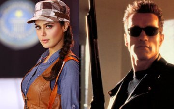 What's Preity's Connection With Arnold Schwarzenegger?