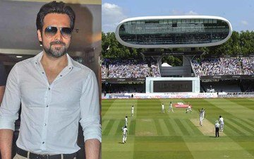 Emraan Goes To Lord's For Azhar Biopic
