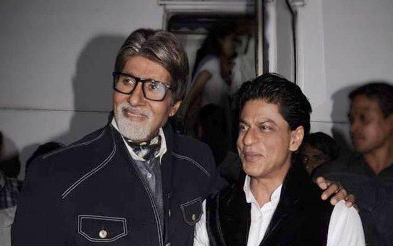 Amitabh Bachchan Plays Agony Uncle To Shah Rukh