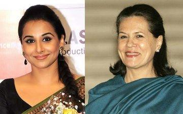 Sonia Gandhi Fails To Concede To Vidya Balan's Request
