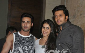 What did Genelia think of Riteish in Bangistan?