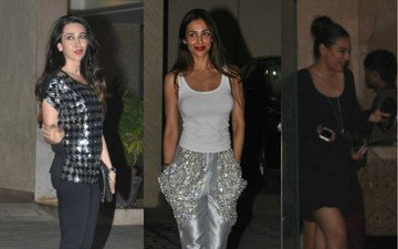 Karisma Brings Class; Sonakshi, Cool Shoes