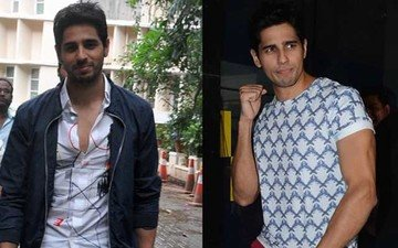 Sidharth's Getting His Style Game On