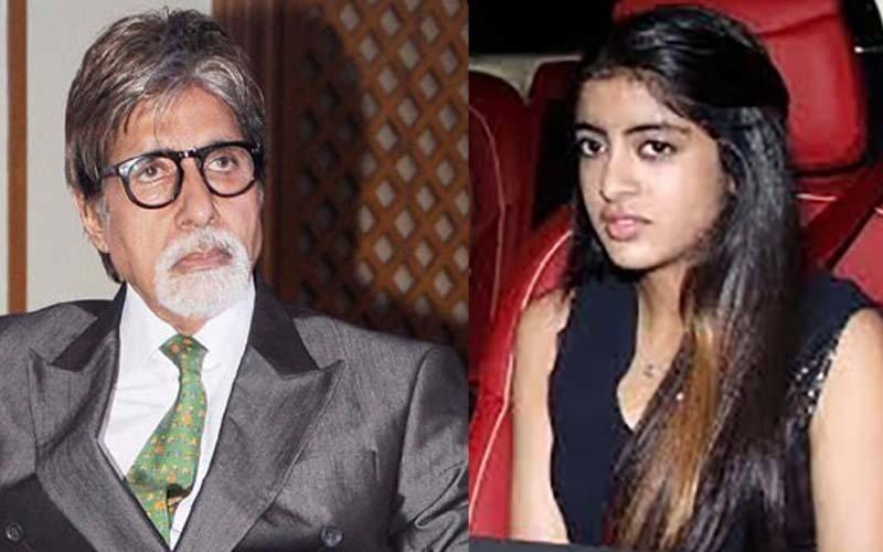 Big B Against His Granddaughter's Bollywood Debut