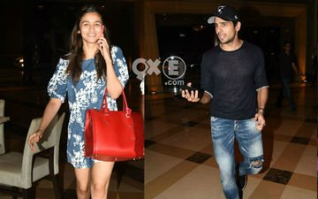 Alia Dines With Sidharth's Parents