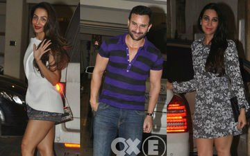 Saif Brings In His Birthday With Family And Friends