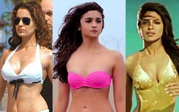 Bollywood Beauties Rock The Bikini
