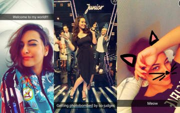 Sonakshi Sinha's World Through Snapchat!