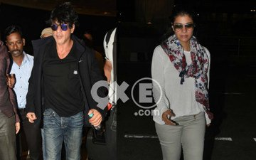 SRK, Kajol Take Off For Iceland