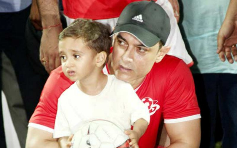 Aamir Khan Beefs Up Security For His Son Azad