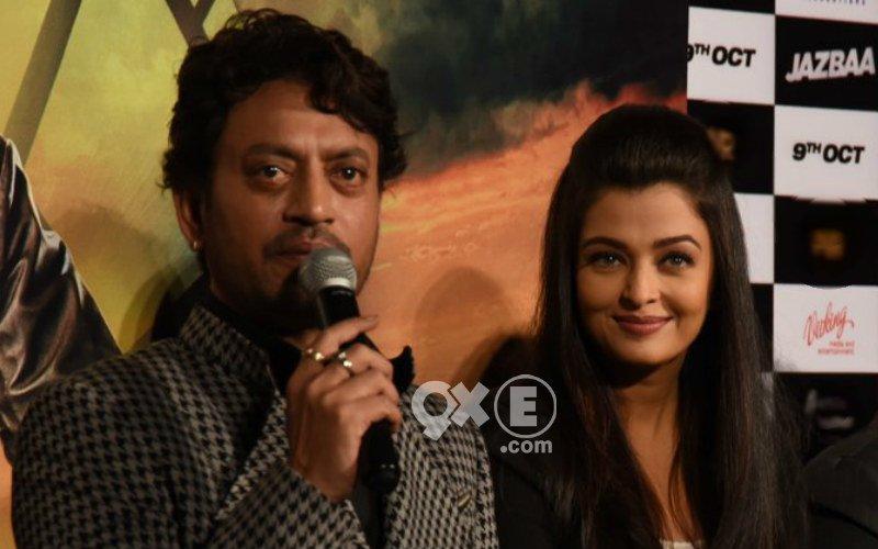 Irrfan: Aishwarya Is The Main Reason Why I Did Jazbaa