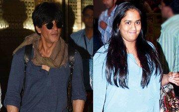 Shah Rukh Bumps Into Salman's Sister Arpita
