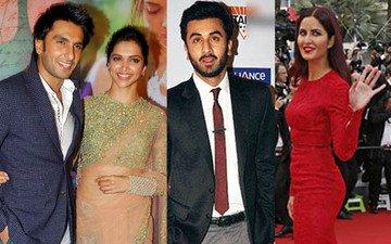 Ranveer-Deepika Vs Ranbir-Katrina: Who's More Glamorous?