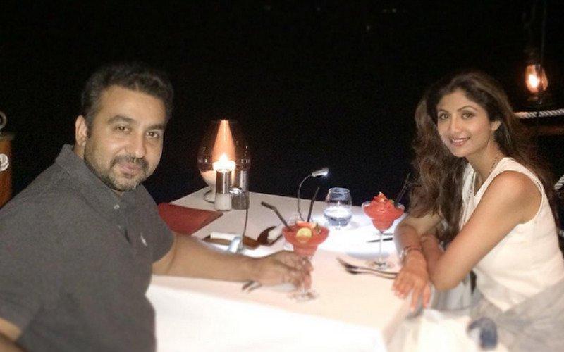 Shilpa Shetty Celebrates Raj Kundra's Birthday In Maldives