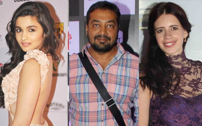 Alia And Phantom Boys At Anurag's Midnight Party; Kalki A No-Show