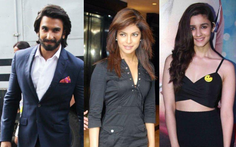 Ranveer, Priyanka, Alia Show Their Support For MAMI