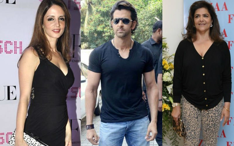 Sussanne Leaves Roshans Home Without Ganpati Darshan!