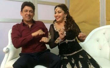 Madhuri To Boogie With Husband Sriram Nene