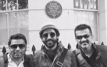 Farhan Akhtar Visits John Lennon's Home