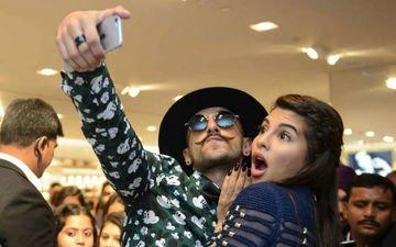 Ranveer Singh & Jacqueline Fernandez Sizzle At H&M Store Launch