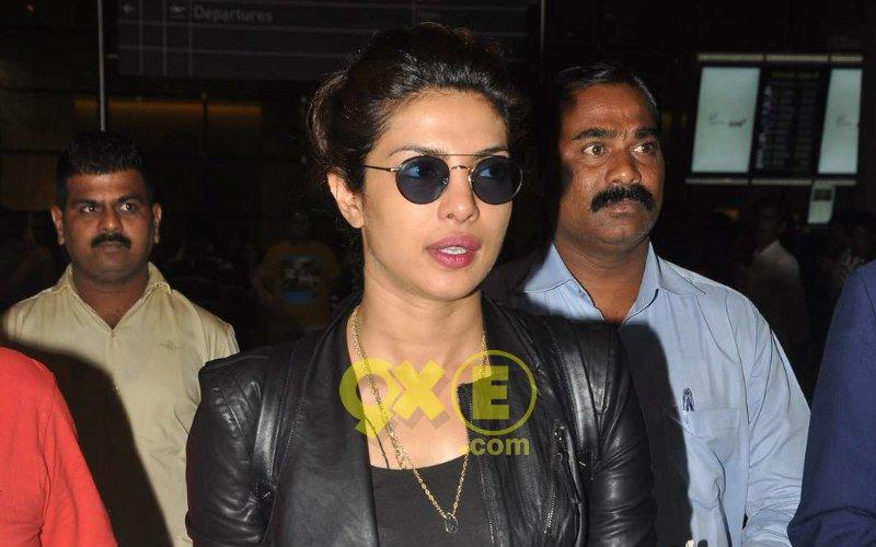 Priyanka Returning To Mumbai