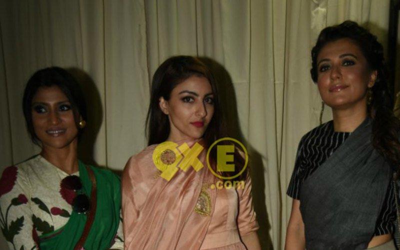 Stars Shine At Sanjay Garg Fashion Show