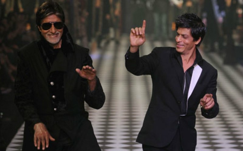 Bachchan And Shah Rukh Battle For 'Worst Best Dancer' Title