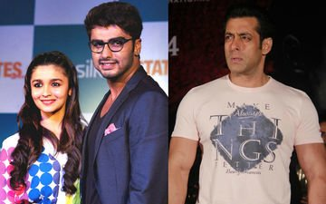 Arjun Rushes Into Alia's Arms To Avoid Salman!