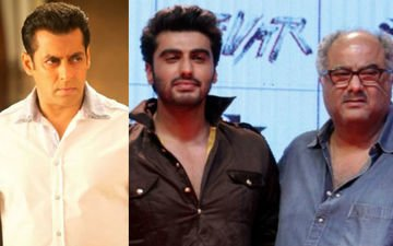 Salman Makes Boney Pay For Arjun's Mistake