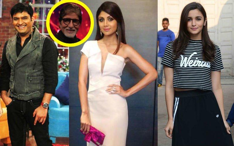 Kapil Sharma, Shilpa Shetty, Alia Bhatt In Big B's New TV Show