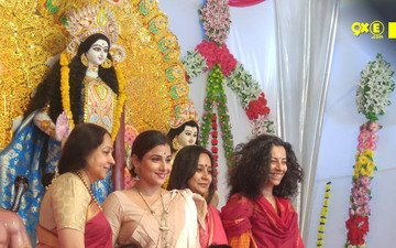 Vidya Balan Offers Prayers To Goddess Durga