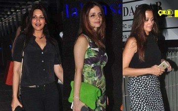 Sonali Bendre, Sussanne Khan And Gayatri Joshi Step Out In Style