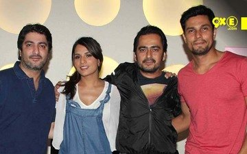 Randeep Hooda, Richa Chadda Snapped At Main Aur Charles Screening