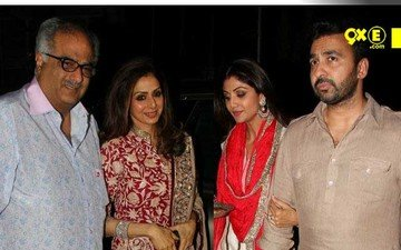Bollywood Joins Anil Kapoor For Karva Chauth Celebrations