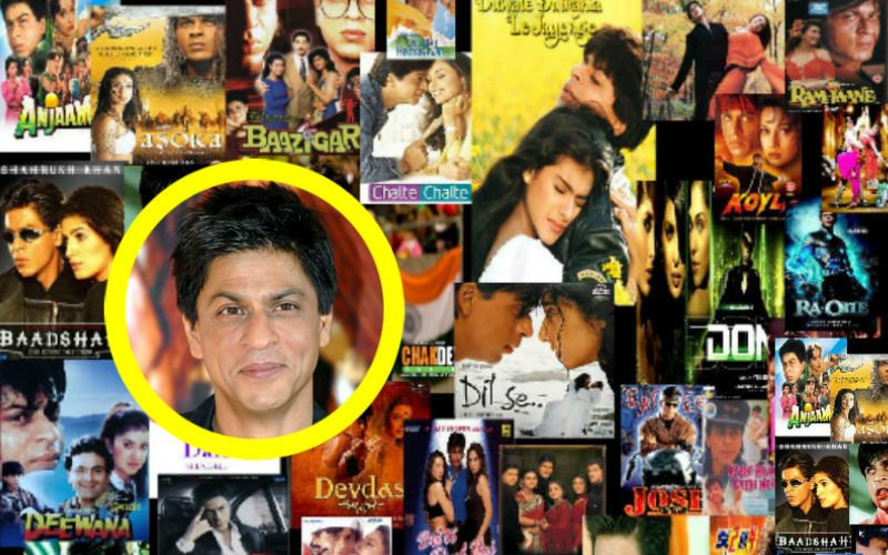 Birthday Special: SRK's Life Through His 50 Movie Titles