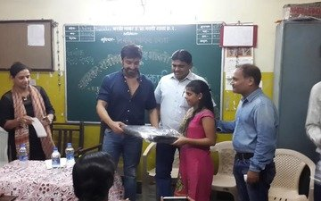 Aashish Chowdhry Celebrates Daughters' B'day With Underprivileged Kids